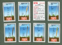 Collctable TRADE cards set by Angling Times, fishing flies 1986